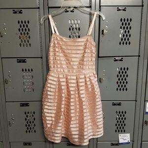 H&M Stripe A-Line Dress